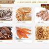 Sấy khô được nhiều loại thực phẩm