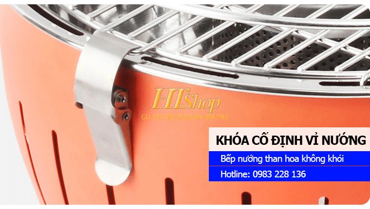 Bếp nướng than hoa không khói BBQ-HT01