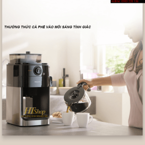 máy pha cà phê hạt philips hd7762
