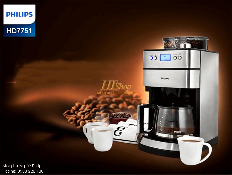 Máy pha cà phê Philips HD7751
