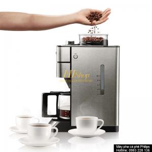 máy tự động xay pha ra những ly cà phê thơm ngon