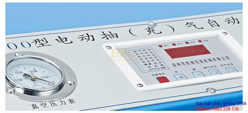 bảng điều khiển máy hút chân không quần áo ht500a