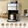 máy pha cà phê hạt rang xay hd7753
