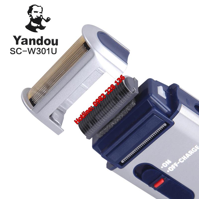 máy cạo râu chính hãng Yandou